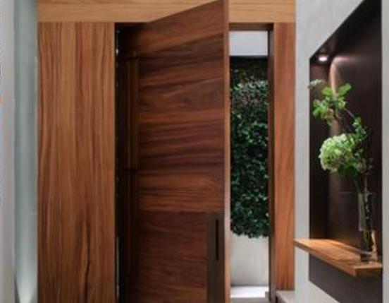 Fotos y dise os de puertas maderas para aberturas for Disenos puertas de madera exterior