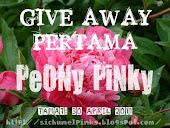 GIVEAWAY PERTAMA PEONY PINKY