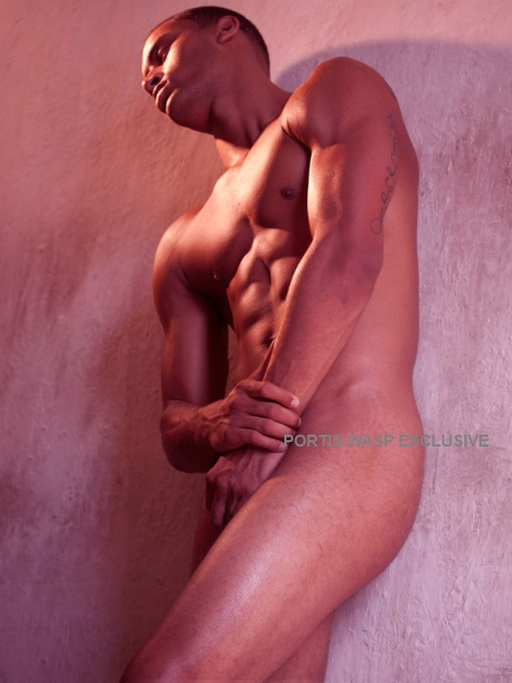 Vladi Marchena nude portrait by Joseph Bleu