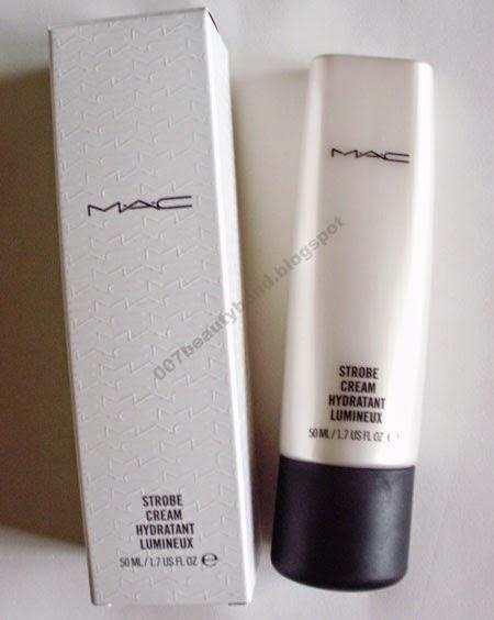 resenha Strobe Cream da MAC creme de rosto iluminador