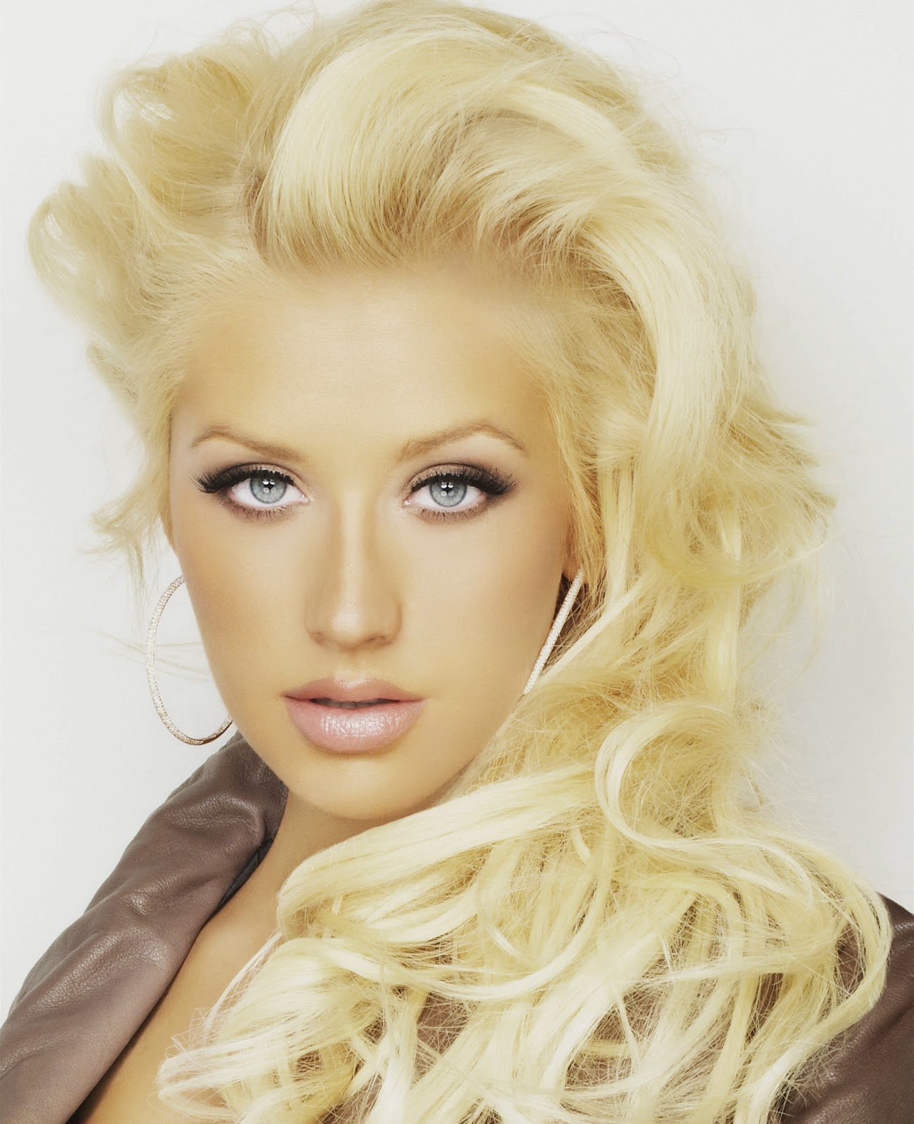 The Celebrity Oops Digest Christina Aguilera Marie Clair