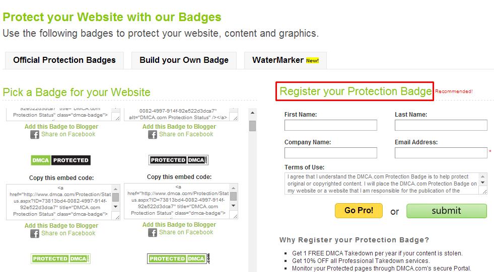 DCMA - Lindungi Konten Situs Dengan DCMA 3