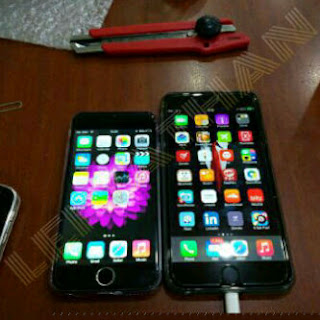 Perbandingan iPhone 6 dan iPhone 6+ HDC