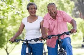 Exercise (bicycling) helps with depression.
