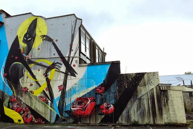 Street Art By Shida and ENO in Hamilton, Taumarunui, Tekuiti and Wanganui, New Zealand. 4