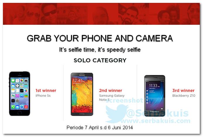 Kontes Selfei Berhadiah Utama iPhone 5s
