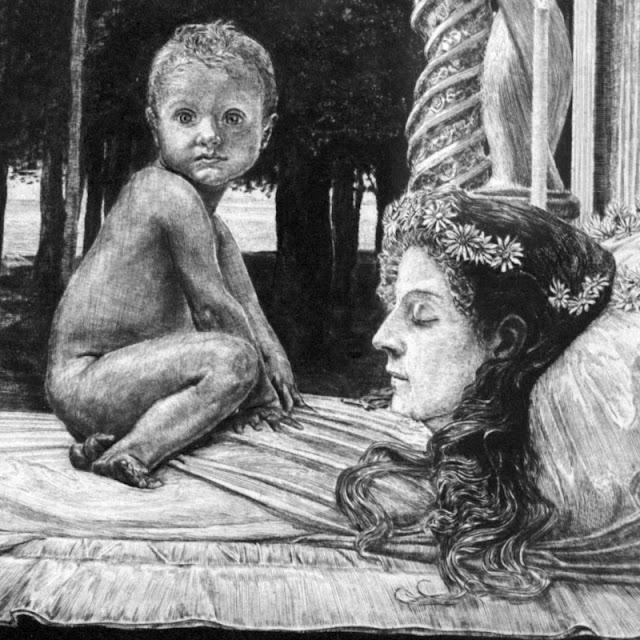 Max Klinger, Den døde mor -- 'Farvel, mor'