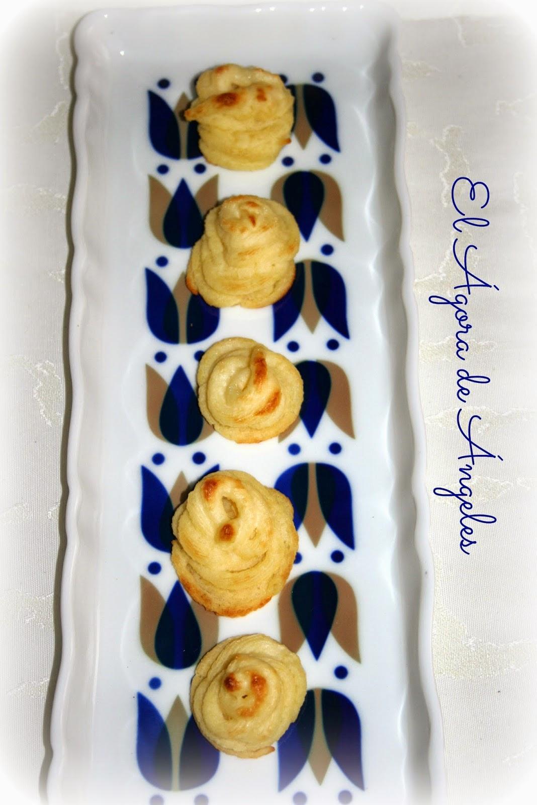 patatas duquesa, guarnición