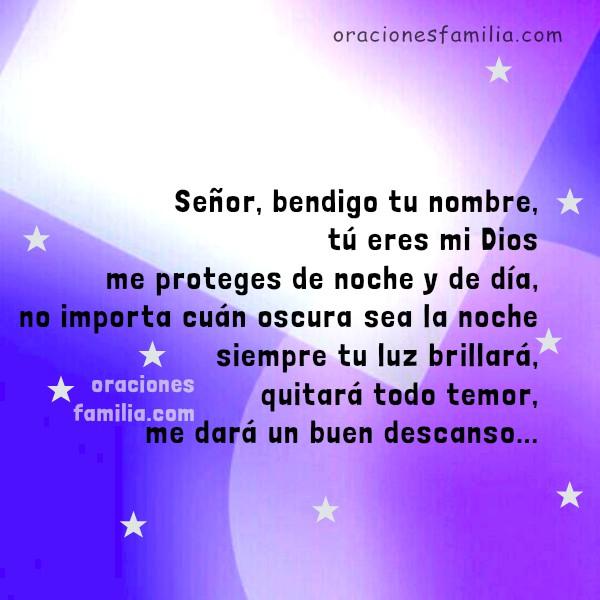 Oraciones para la noche. Oración Corta a la hora de Dormir. Buenas Noches por Mery Bracho.