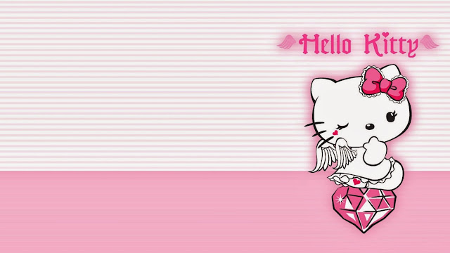 13257-Pretty Hello Kitty HD Wallpaperz