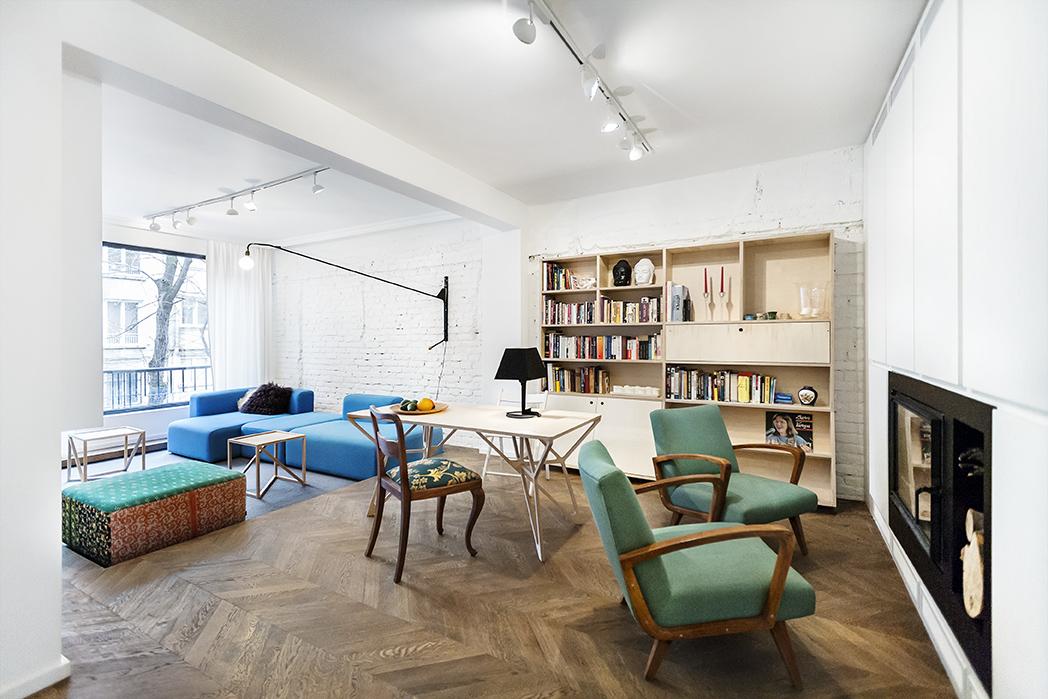 Cabina Armadio E Lavanderia : Appartamento contemporaneo con arredi su misura a sofia by dontdiy