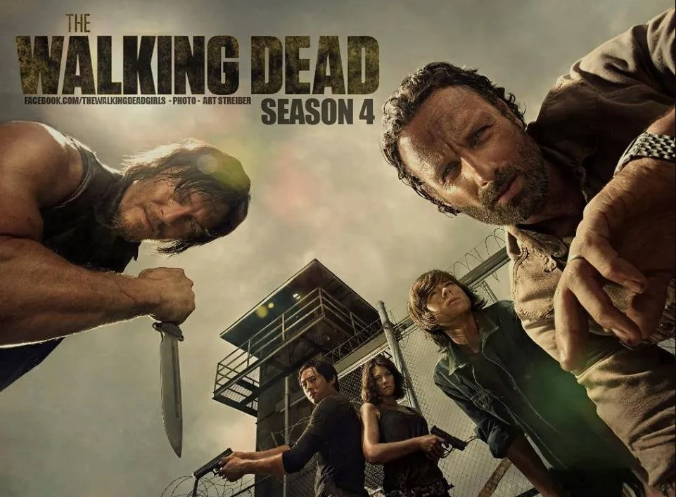 The Walking Dead (Temporada 4) HD 1080P LATINO/INGLES