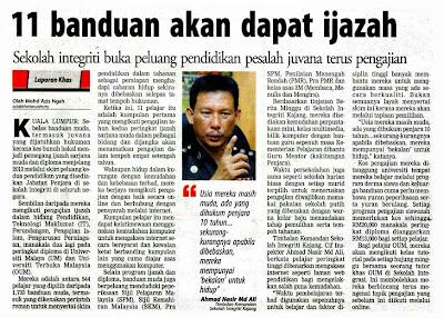 Konsep Penjara Sejahtera, Jabatan Penjara Malaysia