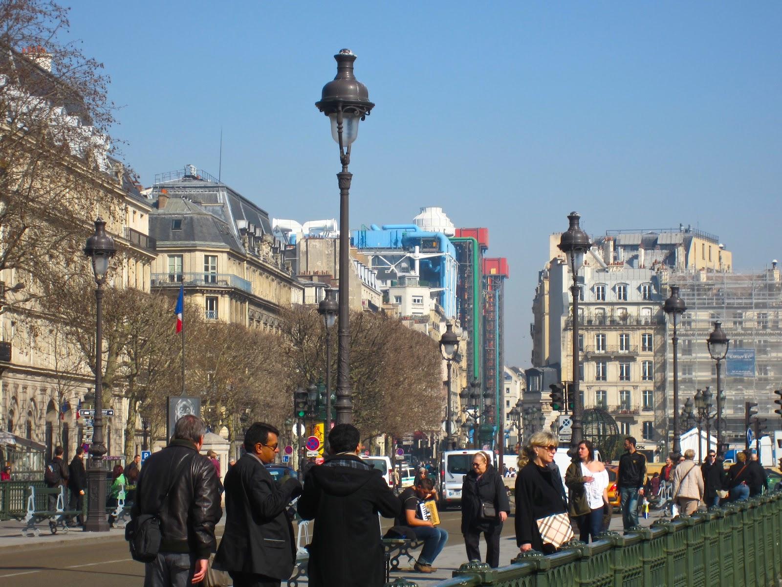 Pompidou Cafe Paris