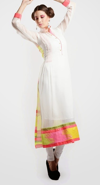 Casual White Long Shirts Best Designs for Girls in Pakistan ...