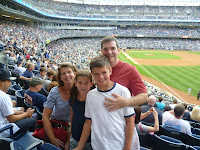 Yankees game family