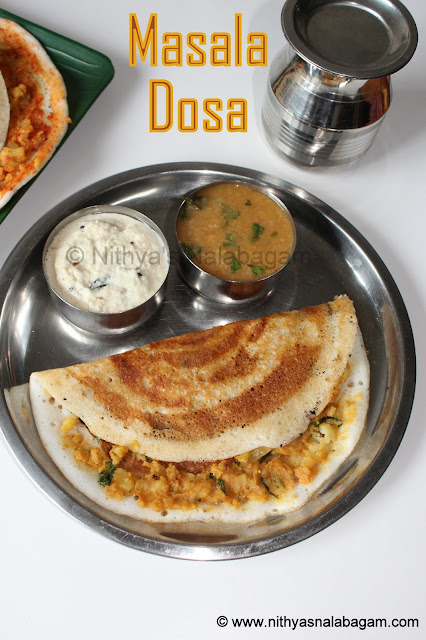 Potato Masala Dosai