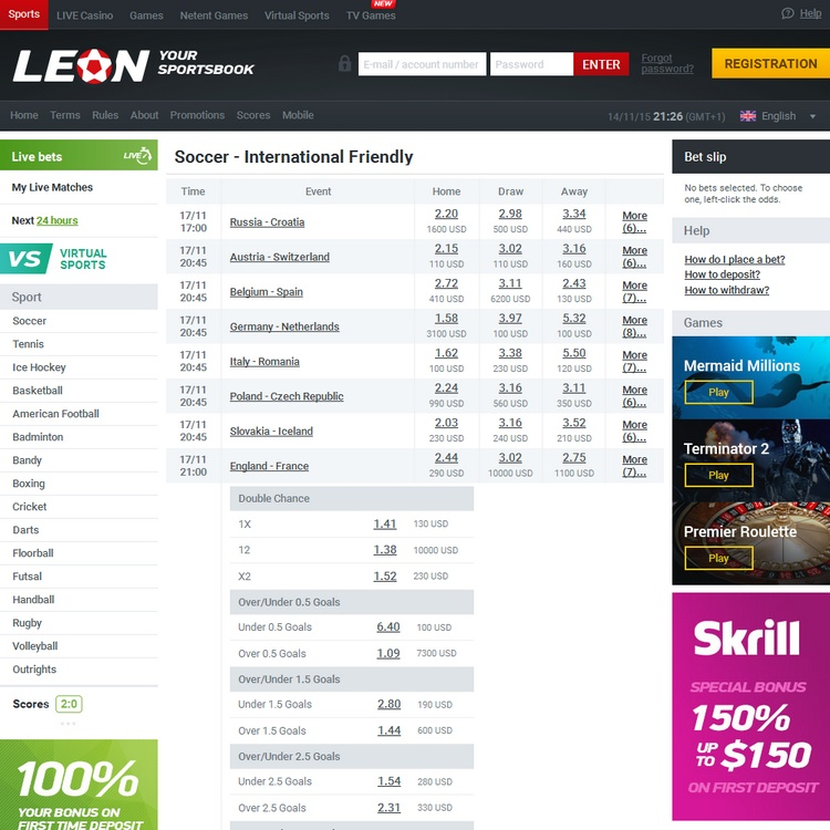 Leonbets Offers