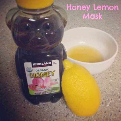 Honey Lemon Mask recipe