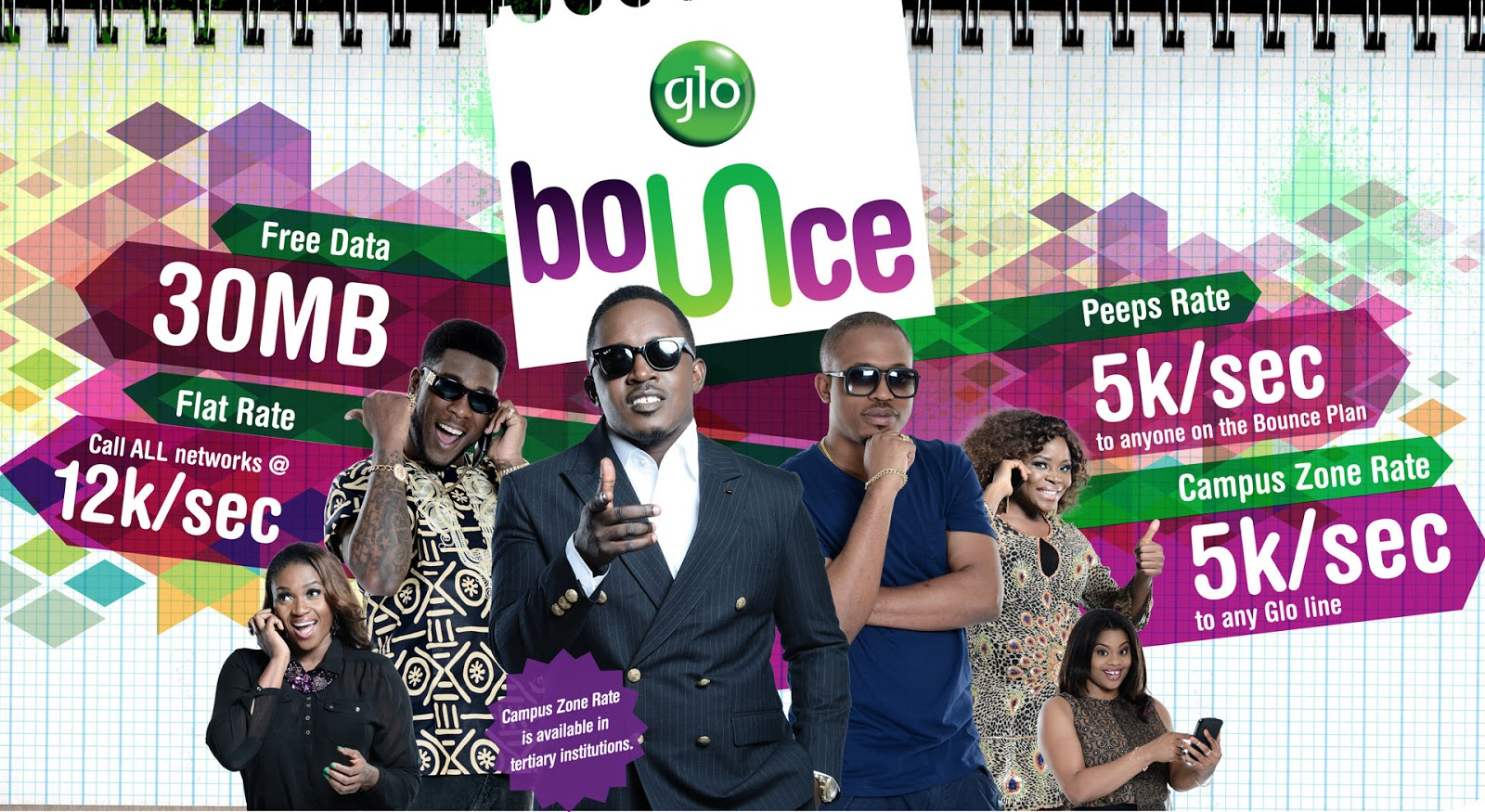 Android Smartphone Glo Bounce 30MB Subscription