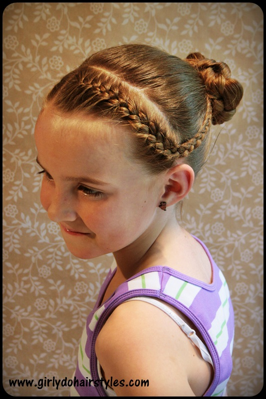 Incredible Girly Do Hairstyles By Jenn Katie39S Dance Braids And Bun Style Hairstyle Inspiration Daily Dogsangcom