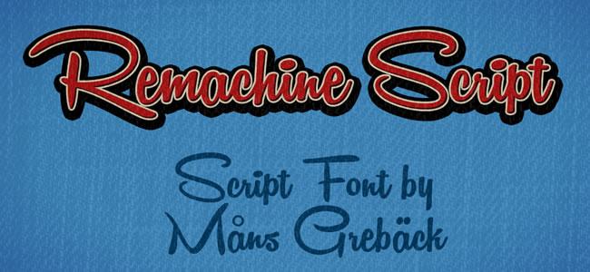 30 Artistic Free Handwritten Fonts
