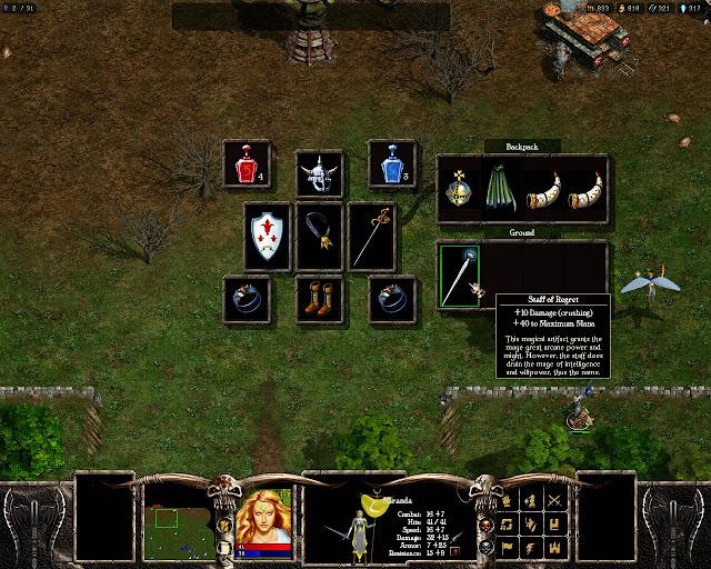 Warlords Battlecry 3 - Inventory Description