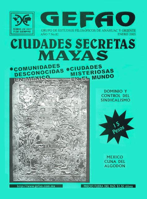 REVISTA GEFAO CIUDADES SECRETAS MAYAS