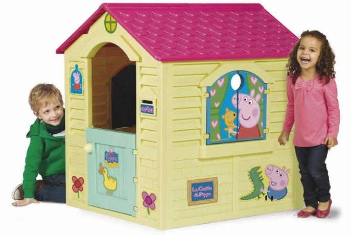 JUGUETES - PEPPA PIG - La Casita  Producto Oficial   Chicos 89503   A partir de 2 años