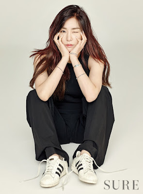 Tiffany Hwang SNSD Girls Generation Sure January 2016