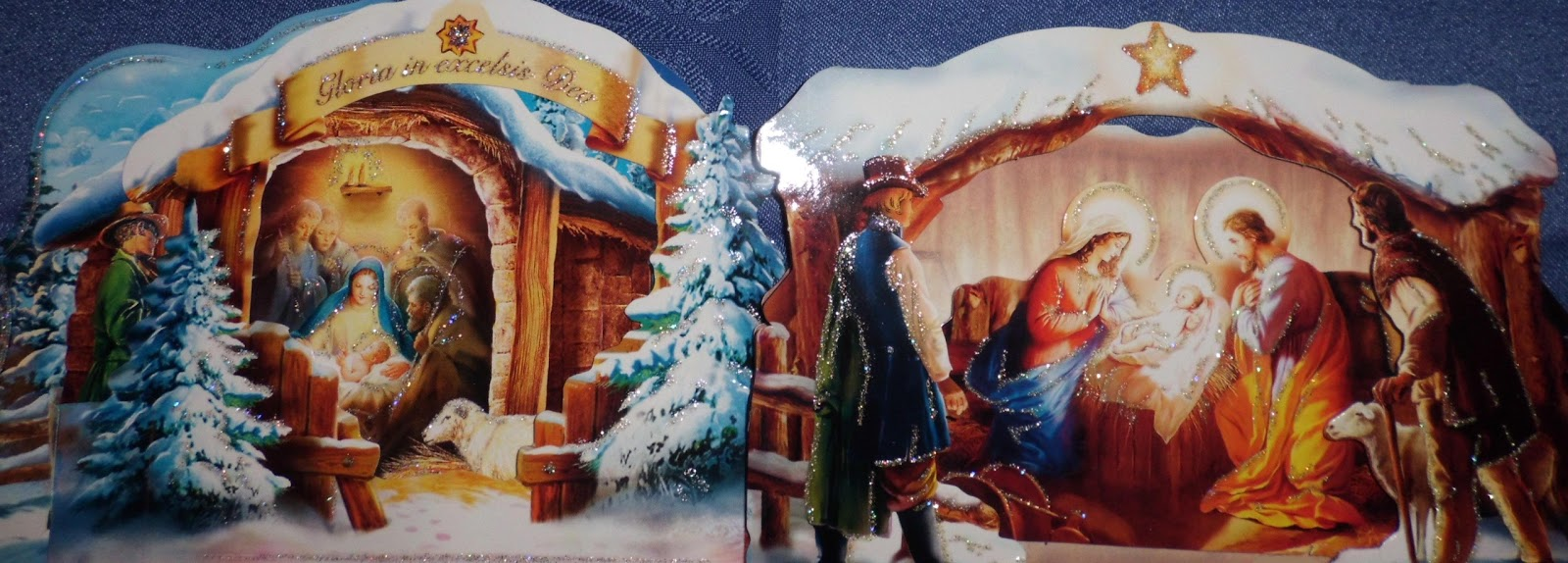 Foreigner in finland christmas cards overview some of the polish cards present santa claus or the christmas tree some are amusing but most of them refer to the birth of christ present nativity scenes m4hsunfo