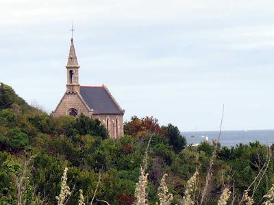 ブルターニュ GR34 聖トリニテ教会