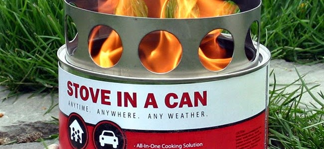 Stove In A Can Giveaway