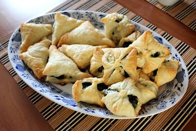 Francuskie rożki ze szpinakiem (Bajeczne smaki)