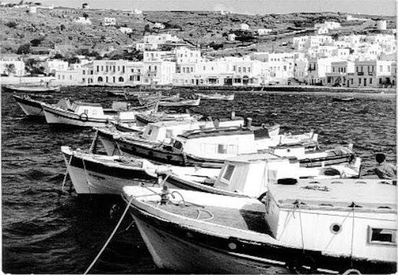 Миконос как курорт был популярен еще в первой половине прошлого столетия