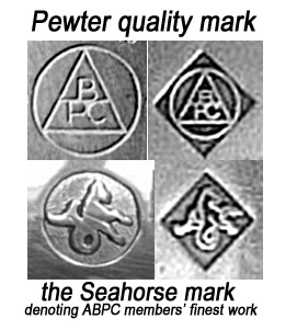 pewter quality mark
