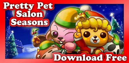 Pretty pet salon seasons apk android game free download for Salon games free download