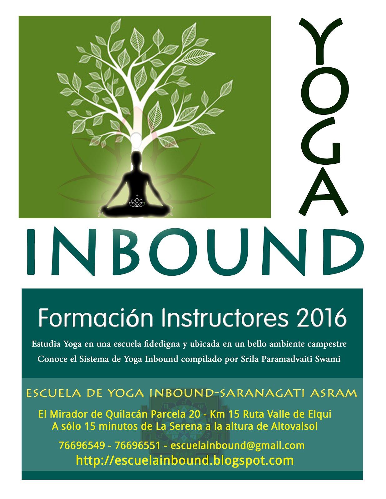 INSTRUCTORADO INBOUND 2016