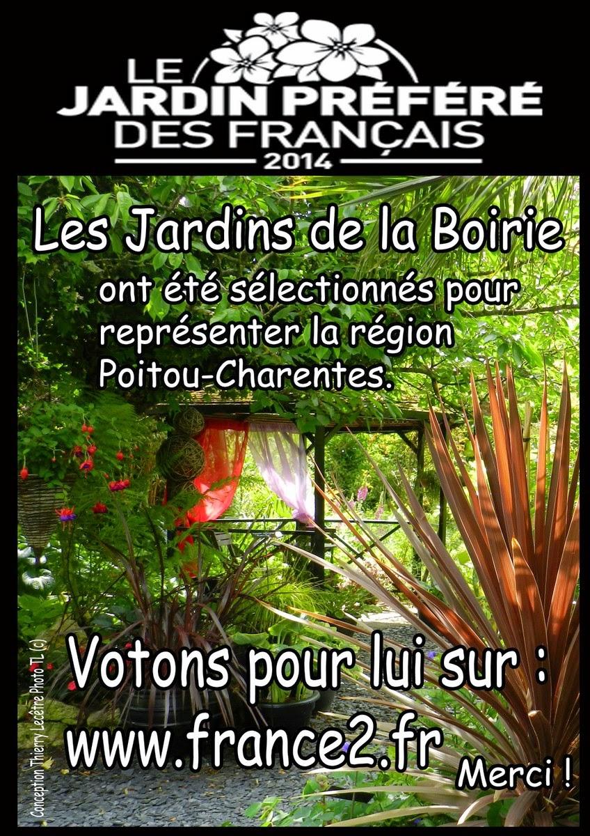 Le jardin pr f r des fran ais 2014 les jardins for Le jardin francais
