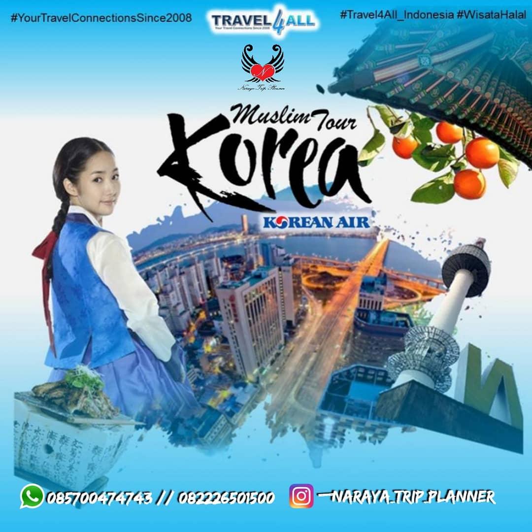 Paket Wisata Muslim ke Korea