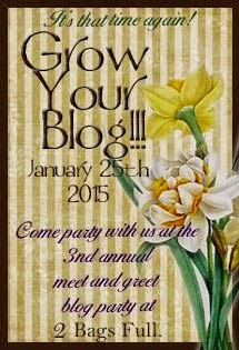 I am taking part in the 2015 Grow your Blog party!
