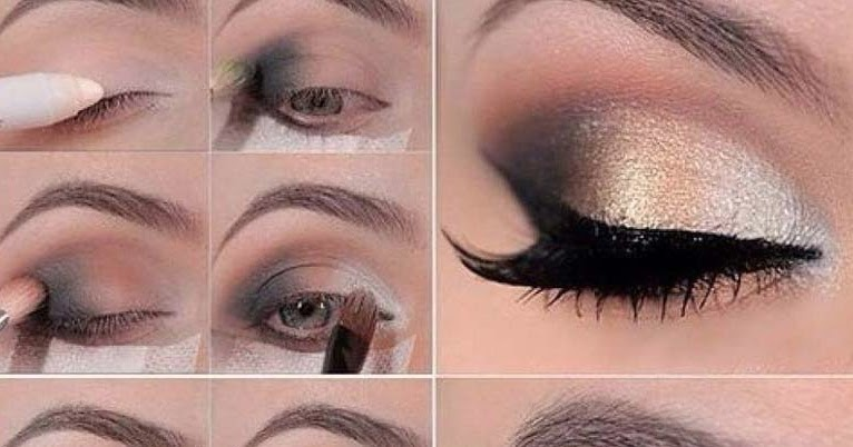 Casual Glitter Eyemakeup Tutorial B Amp G Fashion