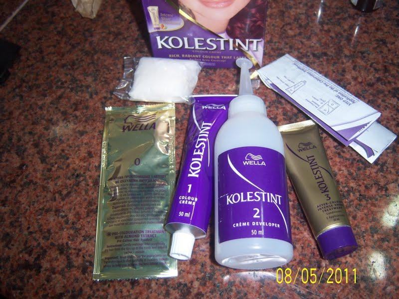 Shivanis Makeup Blog Wella Kolestint Hair Color Review
