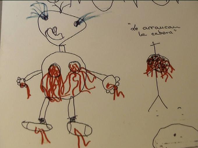 VIOLENCIA INFANTIL: Dibujos de niños maltratados