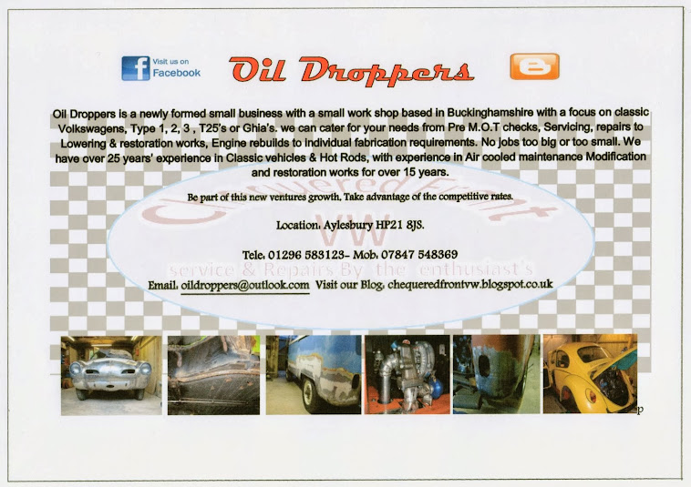 Oil Droppers (Chequered front VW)
