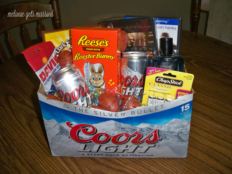 Making It In The Mitten Easter Basket Mens Edition