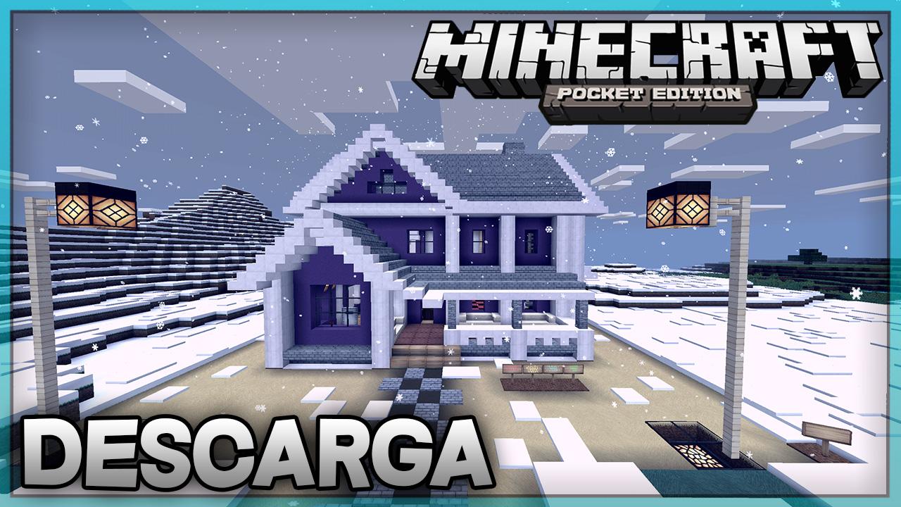 Descarga Casa Moderna Para Minecraft Pe Super Casa 5