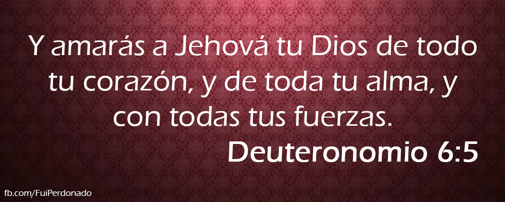 Deuteronomio 6:5