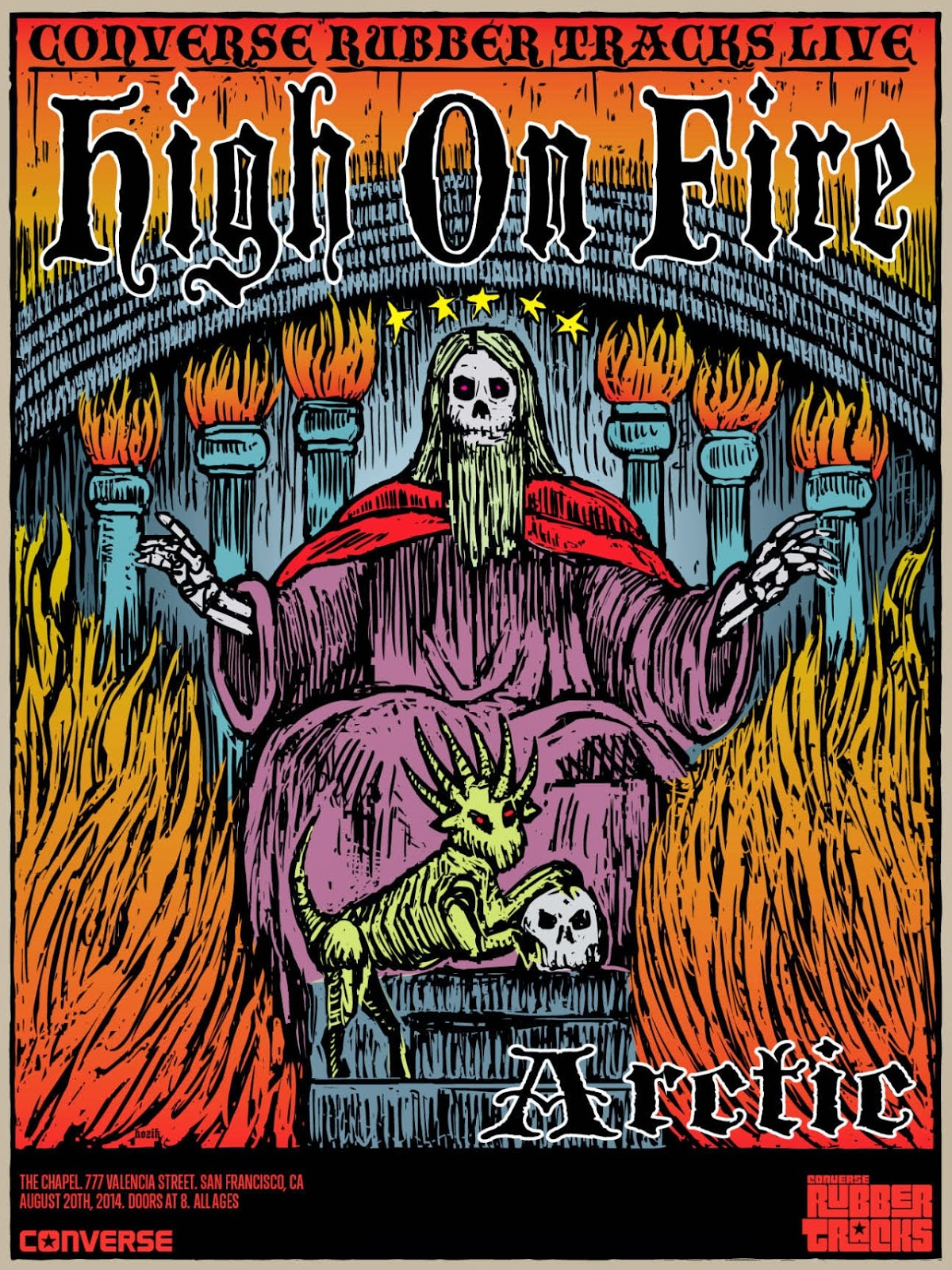 High on Fire announce FREE North American Tour