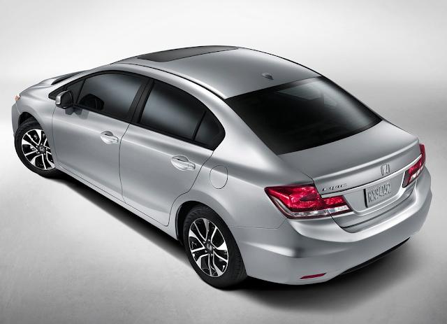 2014 Honda Civic grey